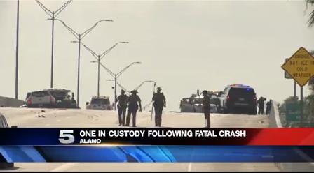 Two Die in Alamo Crash
