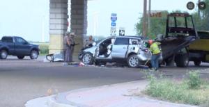 Raymondville car crash