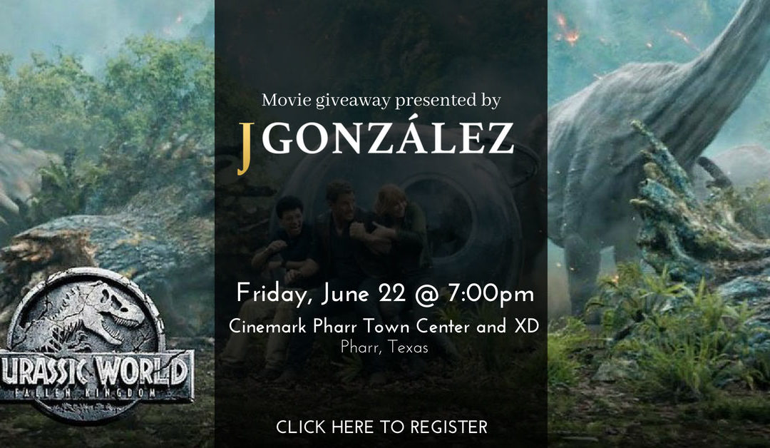 Giveaway Alert: Win Tickets for Jurassic World: Fallen Kingdom!