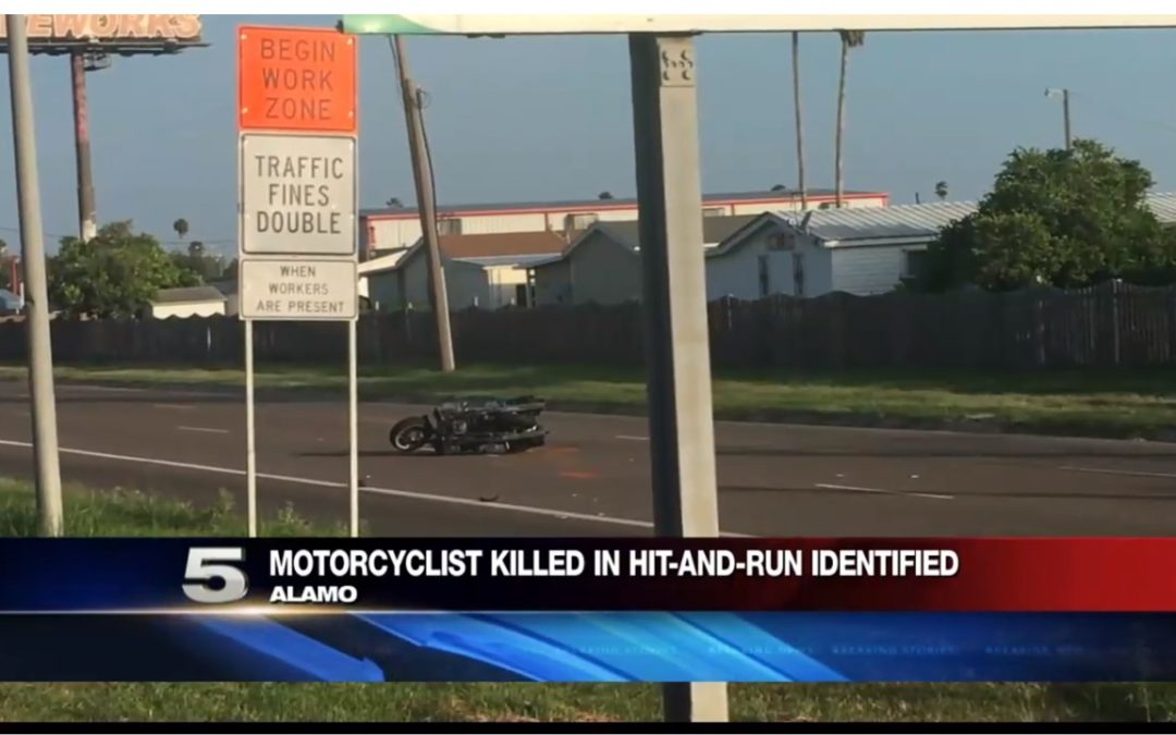 Hit-and-Run Accident in Alamo Kills a Motorcyclist