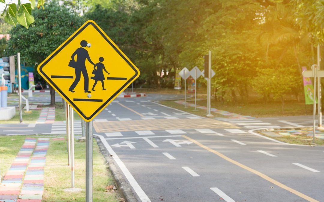Pedestrian Accident on School Grounds Sends One to the Hospital