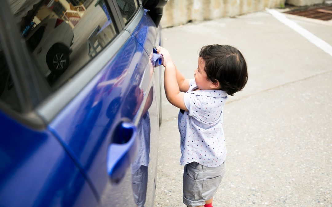Toddler Struck In Tragic Accident