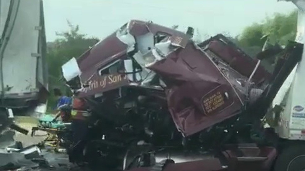 Valley Central's #4 Top News Story of 2019: The Deadly Six-Vehicle Crash in Falfurrias