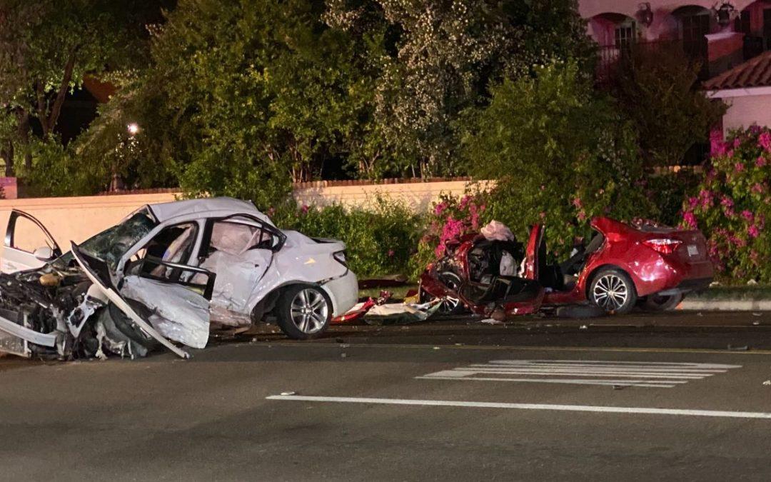 Two People Die in a Car Crash in Mission