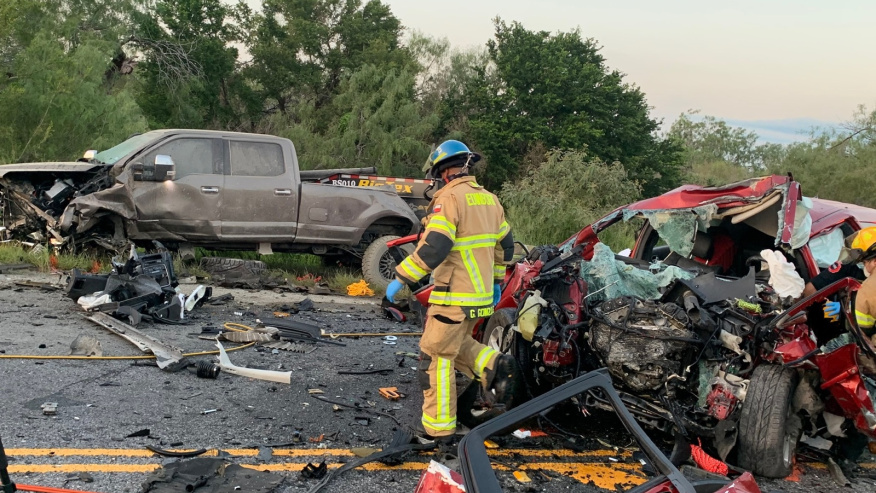 Man Dead After Rural Hidalgo County Head-On Collision