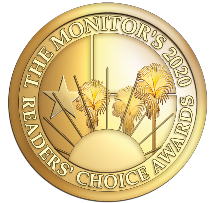 Jesse Gonzalez Is A Recipient of The Monitor's 2020 Reader's Choice Award