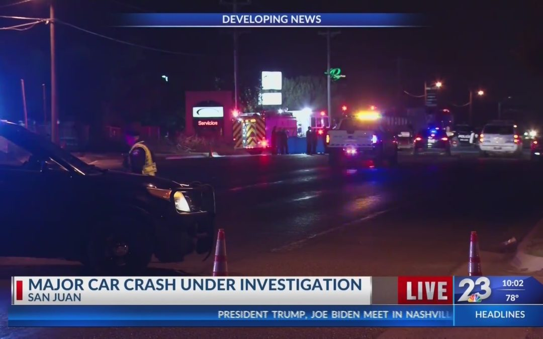 Late Night Auto-Pedestrian Accident Reported In San Juan