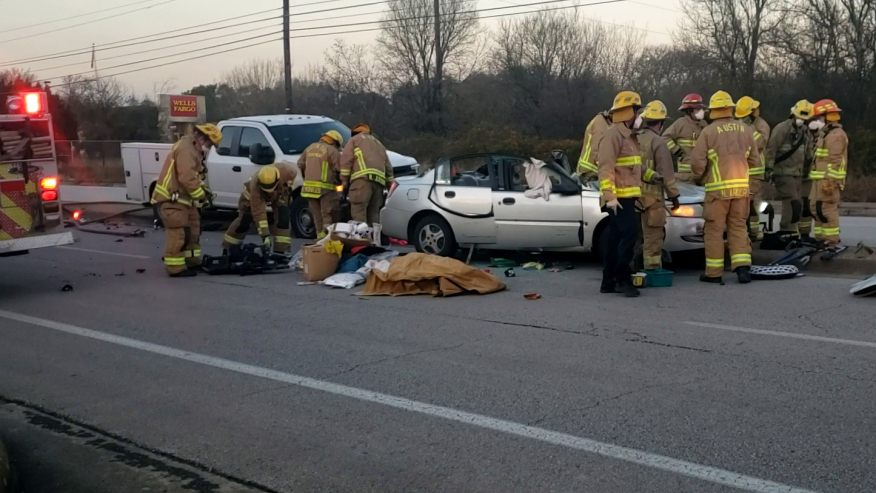 One Person Left In Critical Condition After Three-Way Vehicle Accident