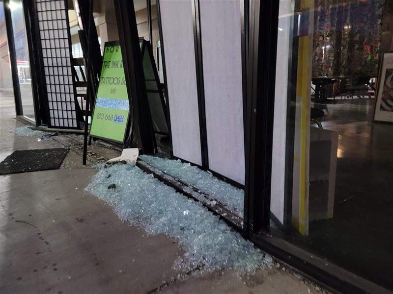 SUV Crashes Into San Antonio Tattoo Shop