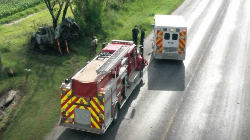 Two Lives Lost in Fiery Los Fresnos Crash