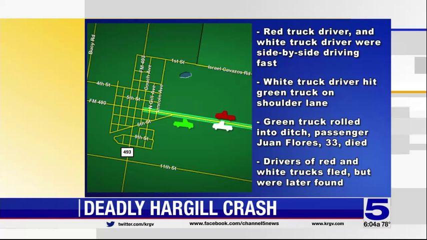 Hargill Man Loses Life in 3-Vehicle Crash