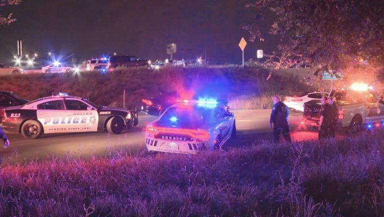 Man Crashes Into Dallas County Deputy's Vehicle