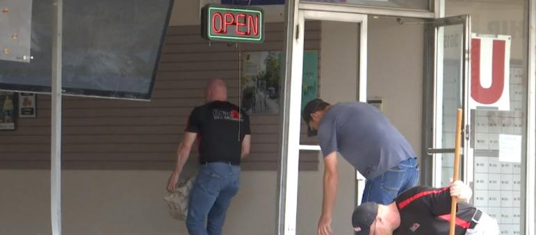 Car Crashes into Waco Storefront